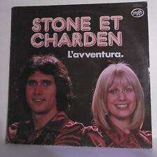 """33 tours STONE ET CHARDEN Vinyle LP 12"""" L'AVVENTURA - MFP 04613292 Frais Reduit"""
