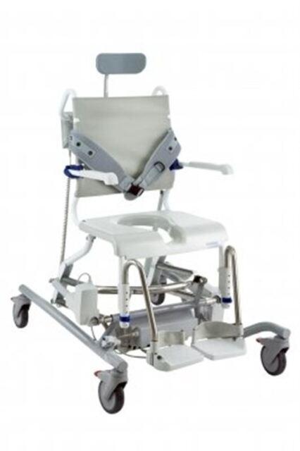 Aquatec Ocean E-vip Shower Commode Chair | eBay
