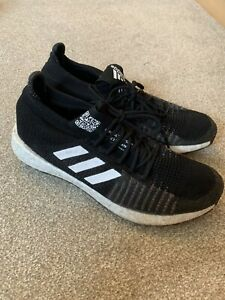 adidas-Mens-Boost-HD-Running-Shoes-UK-Size-10-BlackTrainers-Pulse-boost-Used