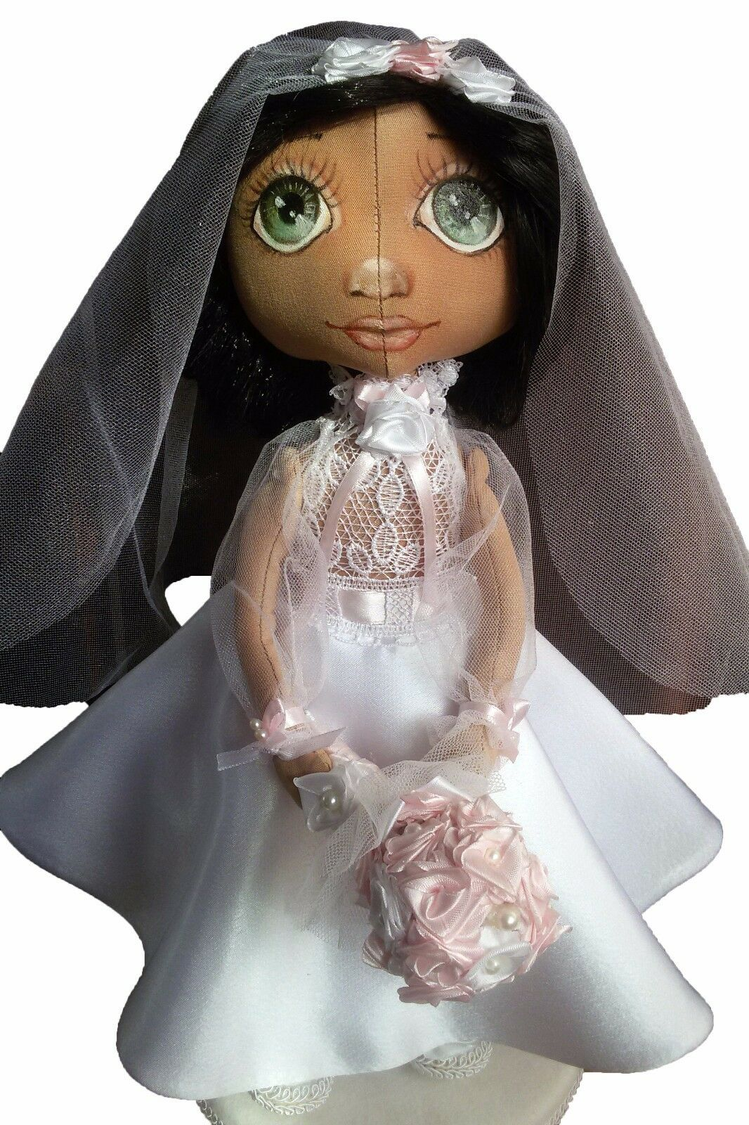 Exclusive Handmade Doll Doll Accessories Handmade Accessories Doll Bride.