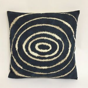 Details About Scion Sohni Indigo Clay Cushion Covers Available In 16x12 And 16x16