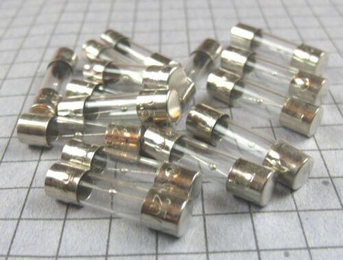Slow Blow 2.5A 250V Glass Fuse 15pcs per lot 5x20mm