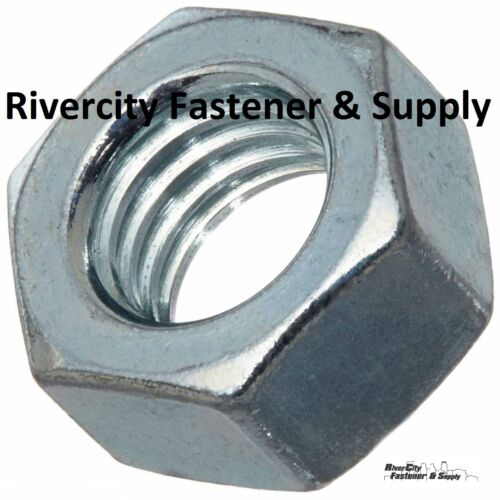 """5//8-11 Left Hand Thread Hex Nuts 5//8/"""" x 11 With 15//16 Hex Reverse Thread 20"""