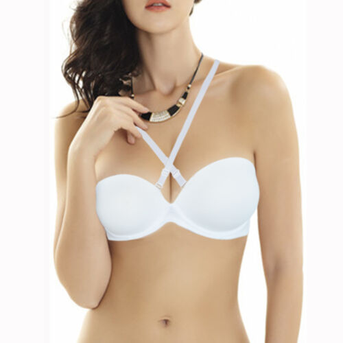 Ladies Push Up Bra Super Thick Padded Plunge Multiway Underwired Support Bras