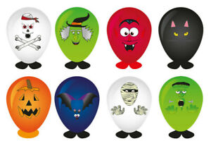 8-x-HALLOWEEN-BALLOON-HEADS-PUMPKIN-WITCH-SPOOKY-KIDS-TOY-GIFT-PARTY-BAG-FILLERS