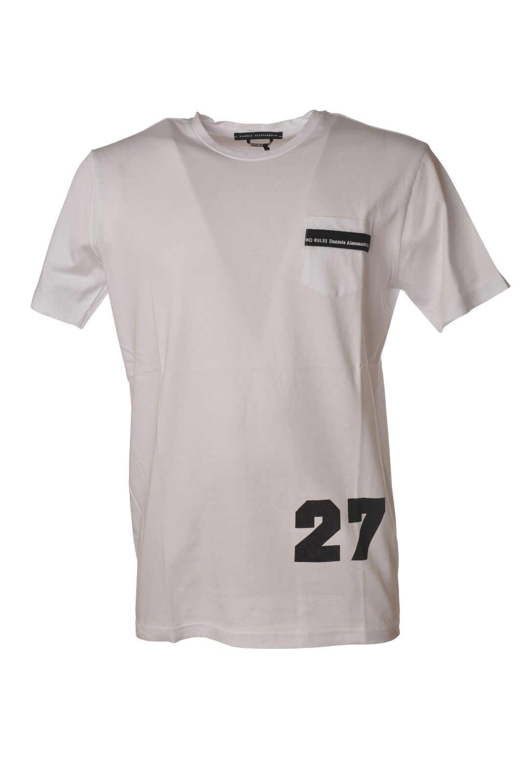 Daniele Alessandrini - Topwear-T-shirts - Uomo - - - Bianco - 5464024N181435 a5cc44