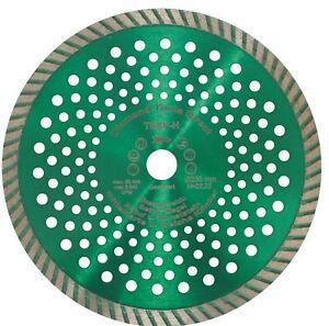 230-Diamanttrennscheibe-Turboscheibe-12-mm-Segment-Diamantscheibe-Beton-Granit