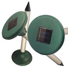 Useful Solar Power Ultrasonic Gopher Mole Snake Mouse Pest Repeller Garden Yard