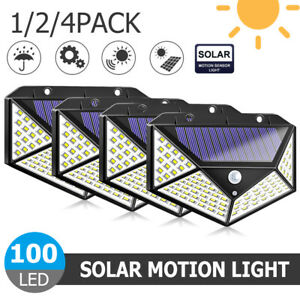100LED-Solar-Power-PIR-Motion-Sensor-Wall-Light-Outdoor-Garden-Security-Lamp