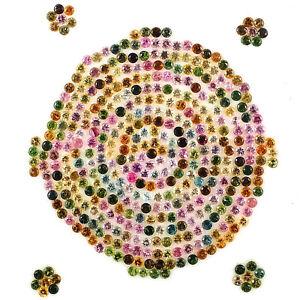 Natural-Tourmaline-403-Pcs-1-75mm-Diamond-Cut-Multi-Color-Loose-Gemstones-Lot