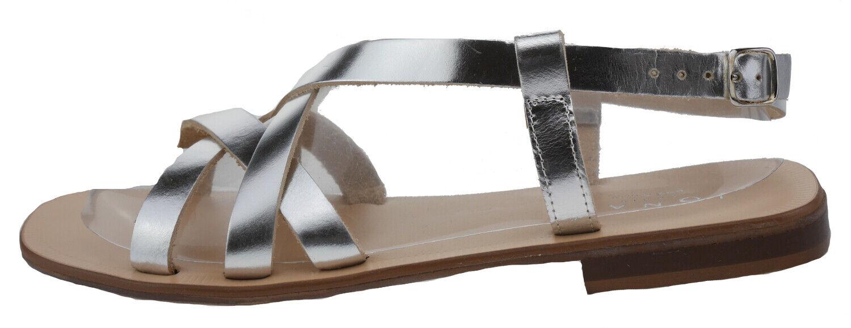 Sandalia de cuero 39 107709 Jonak Polido 342fiona plata EUR 39