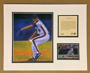 Bret Saberhagen New York Mets 1993 Baseball 11x14 MATTED Kelly Russell Print