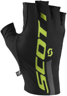 Sporting Scott Rc Premium Pro Tec Fingerless Cycling Gloves - Black