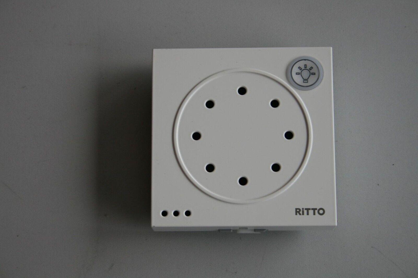 Ritto Türsprechmodul mit Lichttaste 18760x0 weiß