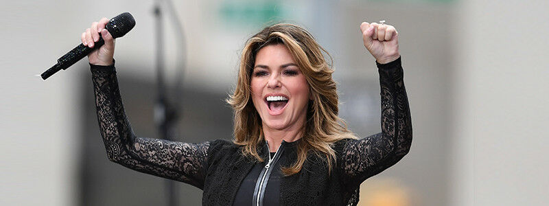 PARKING PASSES ONLY Shania Twain