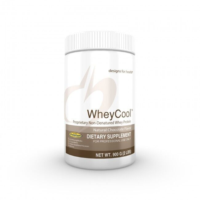 Whey Cool™ Chocolate 900g Powder - Designs for Health Health for 2eef86