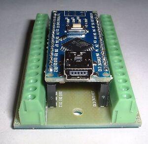 arduino nano v3 0 compatible mega328 screw terminal nano. Black Bedroom Furniture Sets. Home Design Ideas