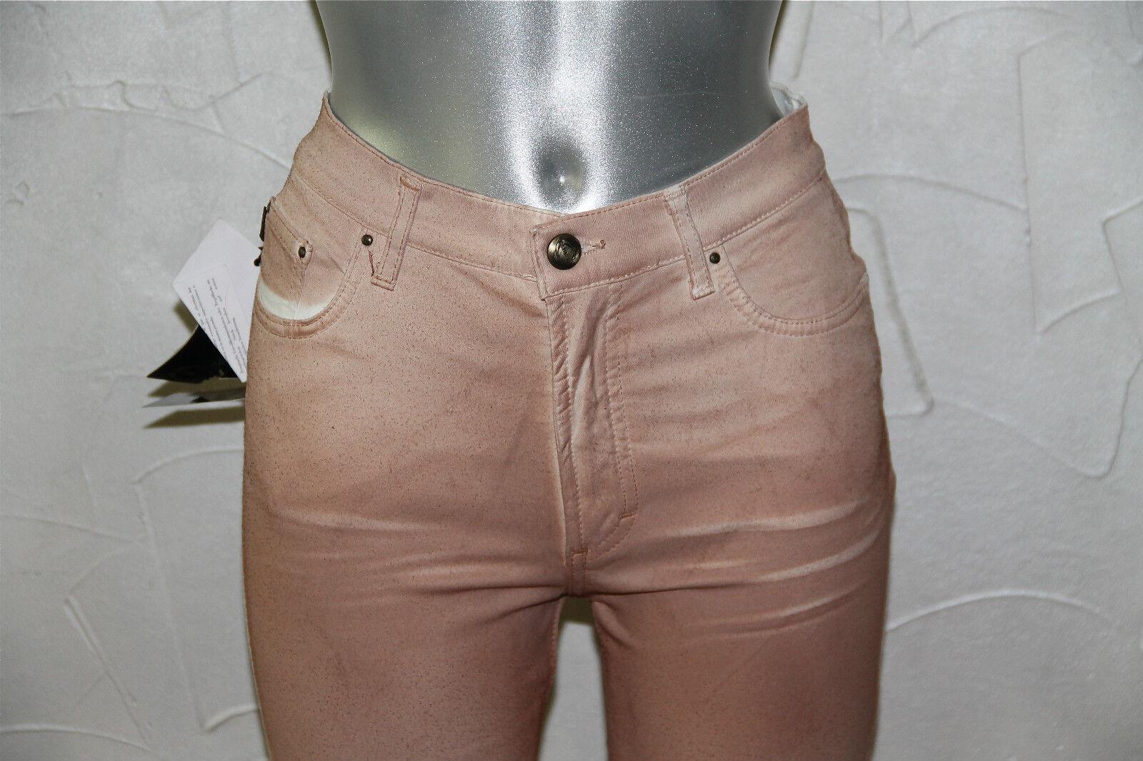 Bonito jeans pink resina women JUST CAVALLI (28) NUEVO CON ETIQUETA