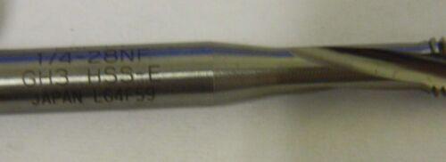 "Widia GTD Bottoming Taps 1//4/""-28 3FL H3 Spiral Flute Lot of 3 #87614"