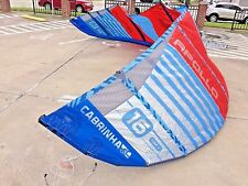 Cabrinha Apollo 16m 2017 Demo Kiteboarding Kite...Freeride, racing, light wind