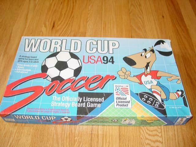 Rare WORLD CUP U.S.A.1994 SOCCER game - Pass, Set Up Shoot -  GOAL