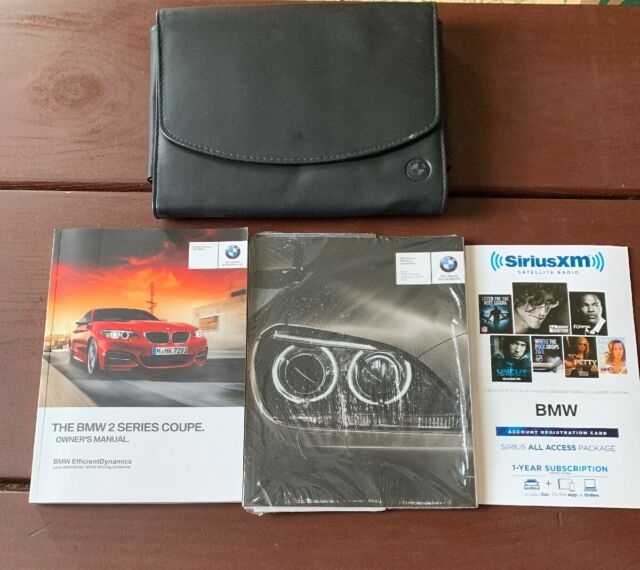 2016 BMW 2 Series Coupe Owners Manual With Case OEM Free ...
