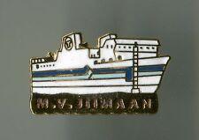 M.V. JIIMAAN FERRY SHIP PIN PINBACK ÉPINGLETTE