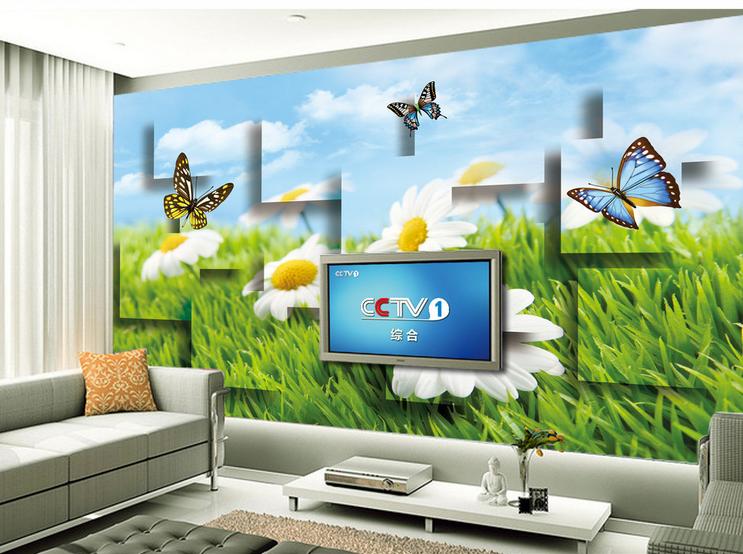 3D Schmetterling Garten 8956 Tapete Wandgemälde Tapete Tapeten Bild Familie DE