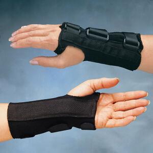 North Coast Medical Comfort Cool D Ring Wrist Orthosis