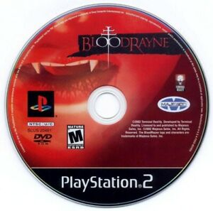 BloodRayne-Sony-PlayStation-2-PS2-Game-Only