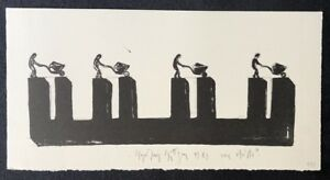 Stephan-Stuettgen-Wie-steht-s-Lithographie-1989-handsigniert-und-dat