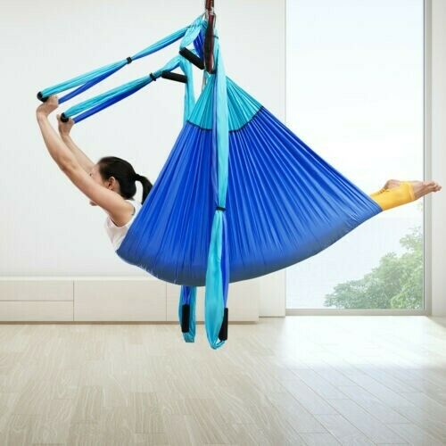 Anti Gravity Yoga Hammock Fliegening Swing Inversion For Exercise Fitness & Stretch