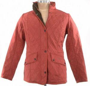 Barbour-NWD-Cavalary-PolarQuilt-Jacket-Size-US-12-In-Terracotta-Orange-279