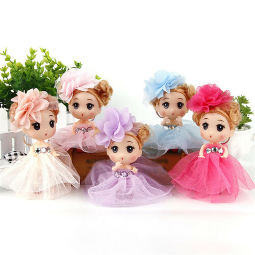 12cm Mini Ddung Doll Cute Toy Confused Doll Key Chain Phone Pendant Ornament HK