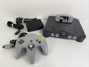 Nintendo 64 N64 System Console Bundle NUS-001 w/ Controller + War Zone Game