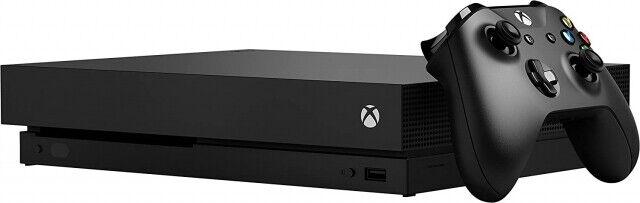 Microsoft Xbox One X 1TB [inkl. Wireless Controller] schwarz - WIE NEU