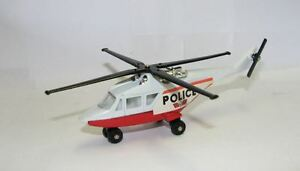 Matchbox-Skybuster-SB20-Police-Helicopter-white-red-Police-Macau-Base-Box