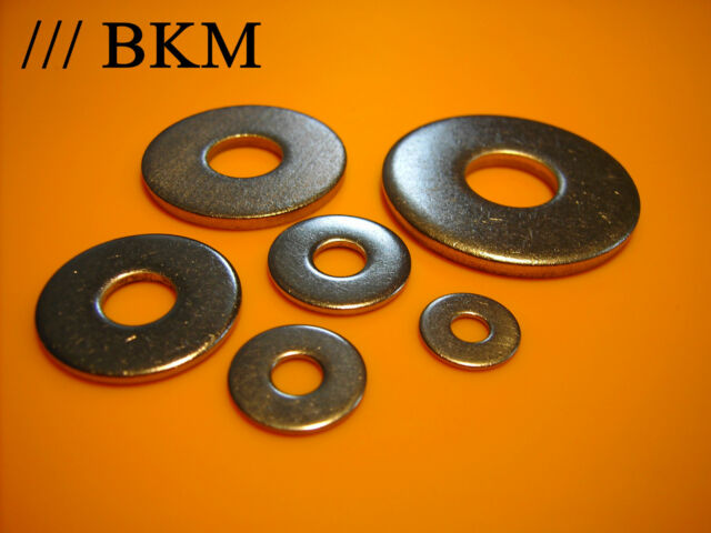 Unterlegscheiben groß M2 bis M12 DIN 9021 Beilag- U-Scheiben BKM Edelstahl V2A