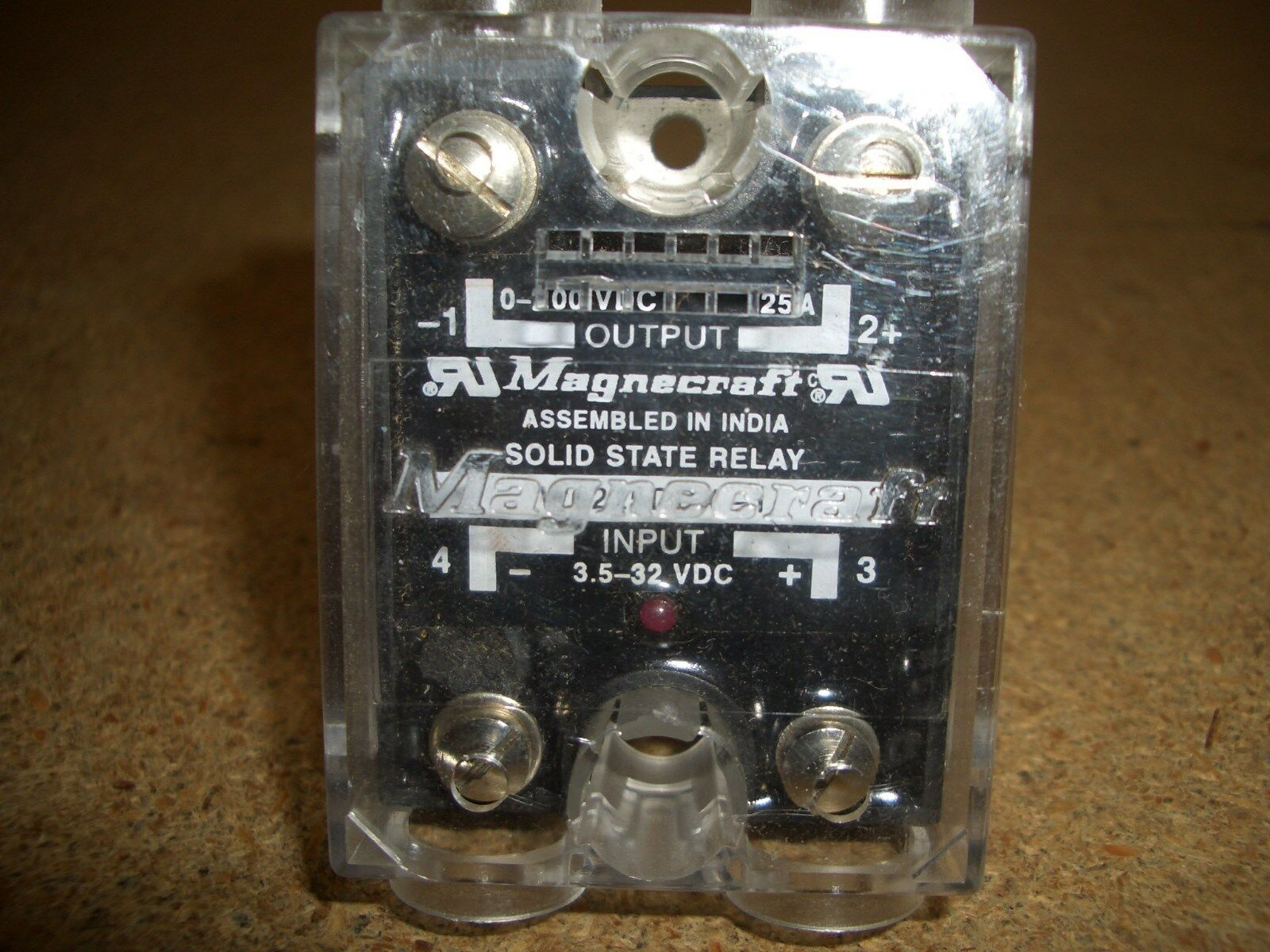 W6225DDX-1 MAGNACRAFT Solid State Relays - Industrial Mount 25A SPST-NO W LAM