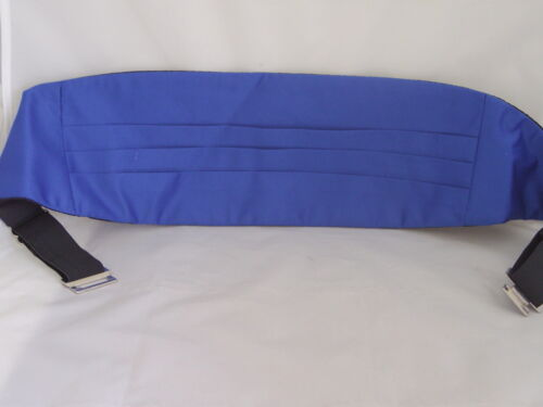 Over 60 Colours in Shop Royal BLUE Polyester Mens Cummerbund />P/&P 2UK/>1st Class