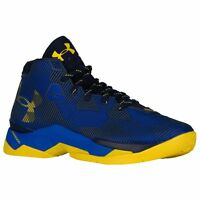UNDER ARMOUR Curry 2.5 Basketball 1274425-400 Blue Yellow Taxi (Size 10 - 12)