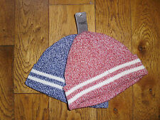 NEXT 2 PACK FLECKED RIB BEANNIE HATS - BNWT - RRP £11.00 - UK 3-4 YRS