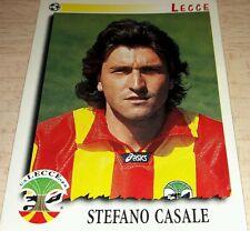 FIGURINA CALCIATORI PANINI 1997/98 LECCE CASALE ALBUM 1998