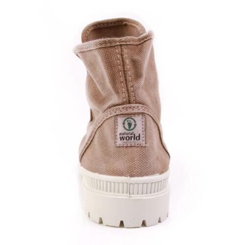 Baja W Braun Beige Natural World Enz Stiefeletten Schuhe Bota Stiefel Vegan twqxIZxBa