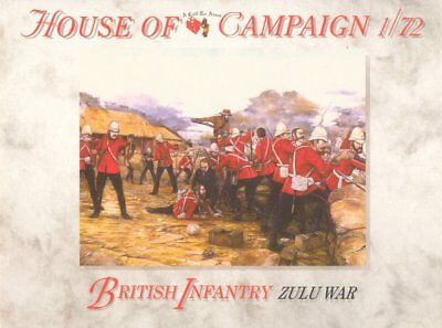 A Call To Arms 1/72 British Infantry Zulu Wars # 57