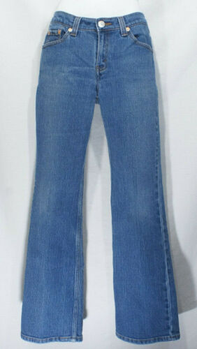 Levi's 517 Denim Jeans Vintage Flares 90's Leather