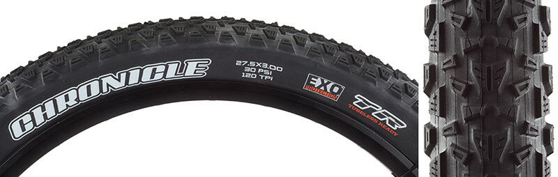 Maxxis Chronicle Tire  Max Chronicle 27.5x3.0 Bk Fold 120 dc exo tr  manufacturers direct supply