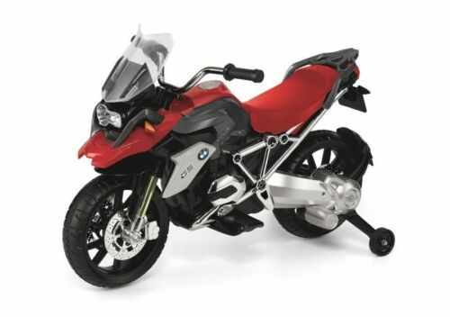 BMW R1200GS 12V ELECTRIC KIDS MOTORCYCLE RED AND BLACK KIDS 3-5 YRS