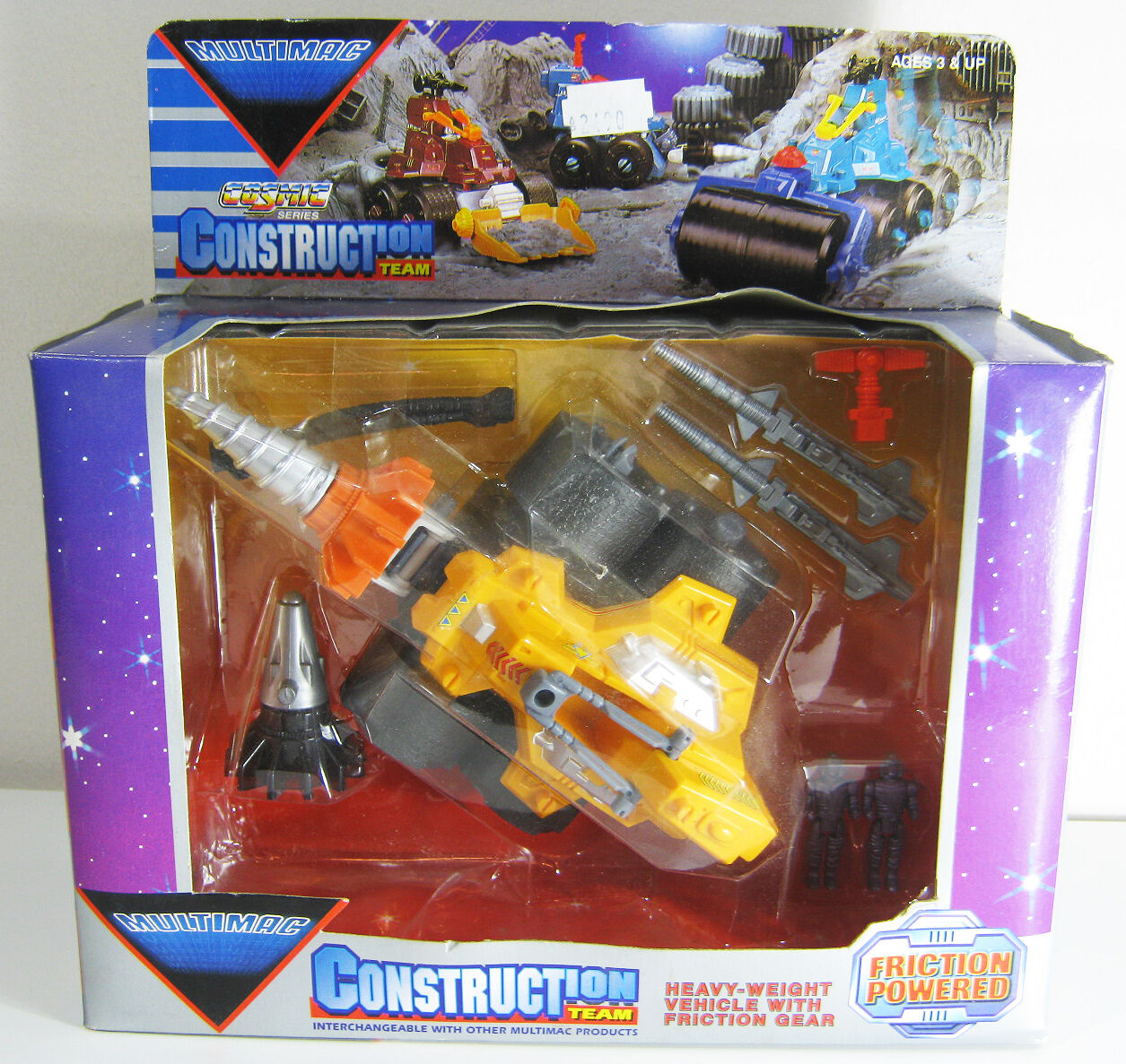 VTG MULTIMAC COSMIC SERIES CONSTRUCTION TEAM MIGHTY DRILL NEW SEALED
