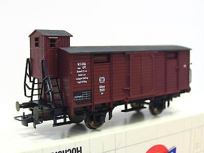 Liliput H0 213 00 ged. Güterwagen m. Brhs. Gm K.P.E.V. OVP (Q6833)